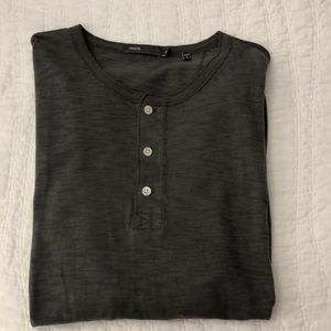 Vince button down t shirt